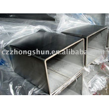 Section creuse carrée SS400 / Q235 / ASTM A500 SS304 312 316