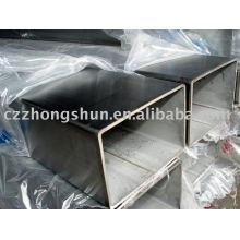 SS400 / Q235 / ASTM A500 сварная квадратная пустотелая секция SS304 312 316