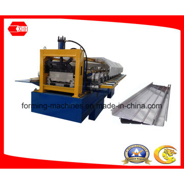 Cold Roll Forming Machine for Standing Seam Roofing