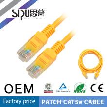 Test de SIPU EXW nouvelle composante de 100 % haute qualité professionnelle cat5e utp ethernet cordon de brassage cat6 1m 2m 3m 5m cordon