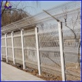 steel wire welded high security airport fencing