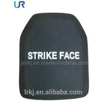 Plaque de blindage à l'épreuve des balles en céramique et PE NIJ IV Alumina