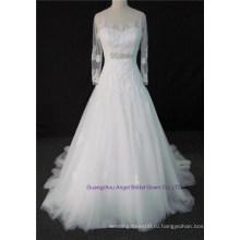 3D цветы quinceanera платья Паффи тюль с плеча Свадебные