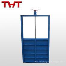 DN 800 penstock sliding gate valve