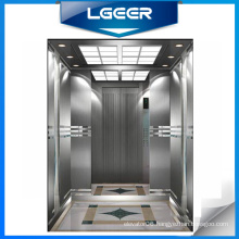 Hairline Stainless Steel Decoration Passenger Lift