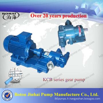 Prix usine - pompe à huile à engrenages série KCB / pompe diesel / pompe à huile de charbon / pompe à lubrifiants