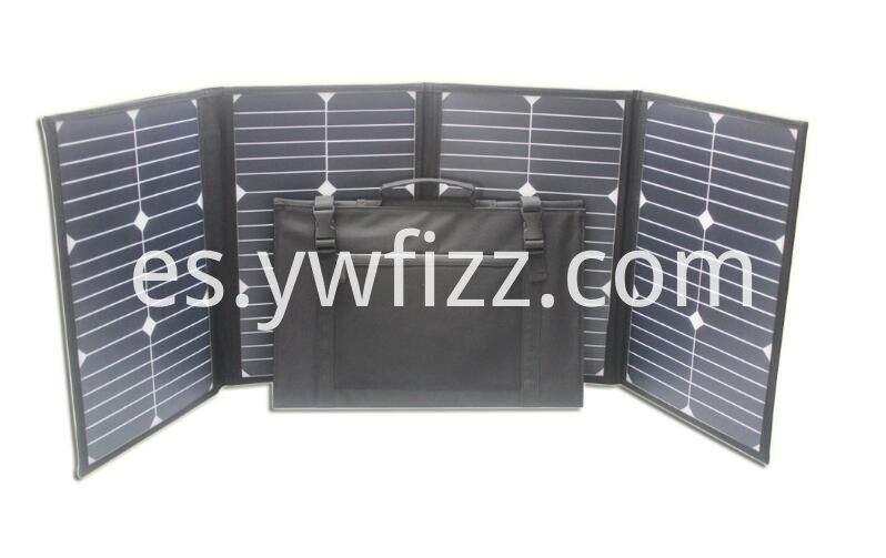 Mobile travel solar plate