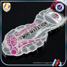 Médailles de sport Custom Zamak Soccer