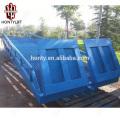 15 Tonnen Porzellanlieferant CE mobile Yard Rampe / Koffer LKW Laderampe