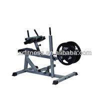 Équipement d'exercice chargé par plaque / rangée assise