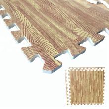 80cm x 80cm wood grain EVA foam tatami mat for sale
