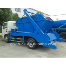 Dongfeng 4x2 roll off garbage container truck