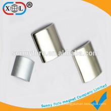 Tile shape of ndfeb permanent magnet