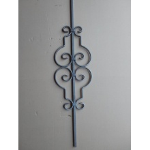 High Permance for Black Coated Wrought Iron Fence, Ornamental Wrought Iron Products, Wrought Iron Gate, Wrought Iron Fence, Wrought Iron Railings Leading Supplier In China Wrought Iron Forged Balusters export to France Manufacturers