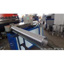 Spiral Flexible Aluminiumfolie Kanal Maschine
