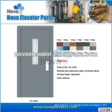 Полуавтоматическая дверь для лифтов
