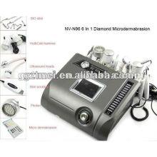 Heißer Verkauf Multifunktionshautsorgfaltdiamant microdermabrasion 6 in 1 Maschine