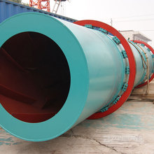 5.5kw Low Power Consumption Coal Rotary Dryer