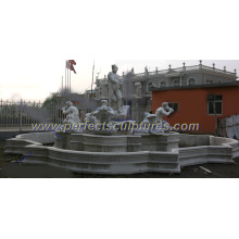 Stone Garden Fountain for Outdoor Marble Water Fountain (SY-F111)