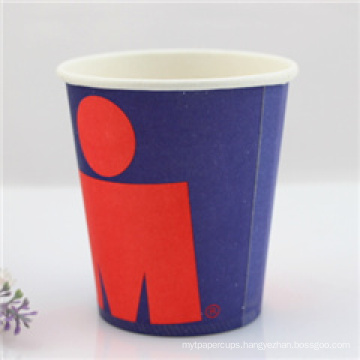 Wholesales Disposable Single Wall Style 8oz Paper Coffee Cups