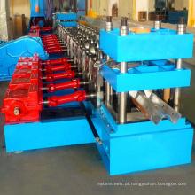 O rolo galvanizado automático do corrimão da estrada que forma a máquina / lamina a máquina de froming for sale