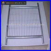 Clôture temporaire Panneau de clôture Clôture en treillis métallique Clôture métallique Réseau métallique Panneau en maille métallique Panneau en fil Haute qualité avec un bon prix