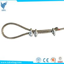 304 cuerda de alambre de acero flexible de la cuerda de alambre del acero inoxidable 7 * 7 al por mayor La opción del surtidor de la selección de la calidad