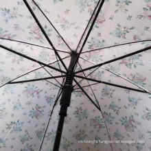 21Inch Half Fiber Three Fold Hand Open Umbrella