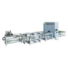 Centre de sciage CNC de profilés en plastique