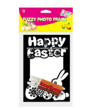 DIY painting Different fuzzy Types Photo Easter Photo Frames