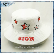2016 estilo personalizado impresso balde chapéu preço barato feito na china