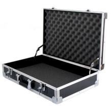Caja de herramientas de aluminio con espuma
