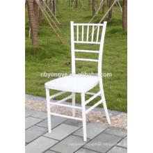 Plastic resin phoenix tiffany chiavari chair at wedding