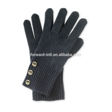 Warm design winter cashmere knitted gloves made in China
