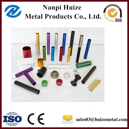 Customized Auto Part with Anodizing color