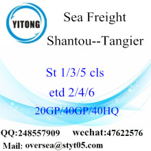 Shantou Port Sea Freight Shipping To Tangier