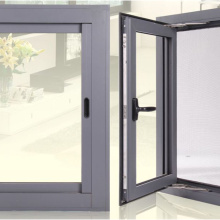 Ventanas abatibles de aluminio Ventanas abatibles Vidrio doble Ventanas de aluminio Imágenes Ventana y puerta de aluminio