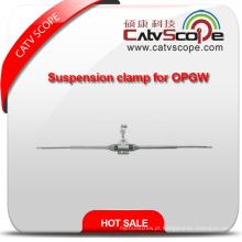 Braçadeira de suspensão de alumínio de alta qualidade para Opgw