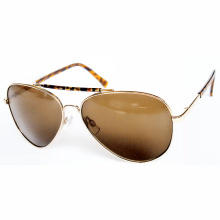 New Fashion Accessories Designer Metal Sunglasses with Promotion Lens (14283)