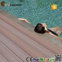 Garten Haus Plan im Freien Gummi Schwimmbad verwenden Decking