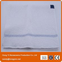 Super Water and Oil Absorbent White Color 100%Cotton Floor Cleaning Cloth