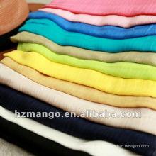 Bufanda de la manera 100% Modal 2016 del color sólido
