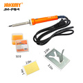 17 pcs Soldering Iron Kit Electronics Welding Tool Bag Set with Soldering Paste Pen Iron Stand Solder Tip Clean Sponcge