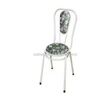 Cadeado de barra de apoio, cadeira de bar metálica, cadeira de tubo de aço para venda