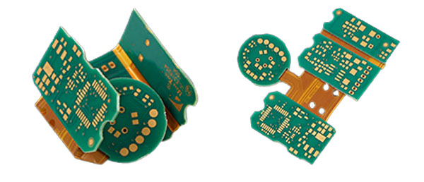 Multilayer HDI Rigid Flexible PCB