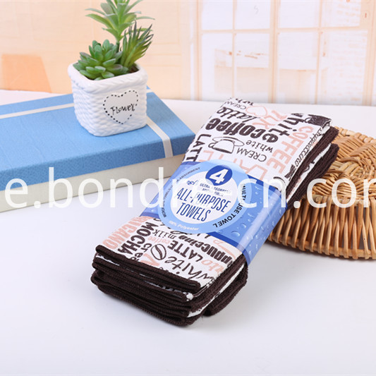 Printed Assorted Towels Pack (6)