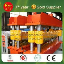 Maquinaria de construcción de baldosas esmaltadas de acero de color hidráulico