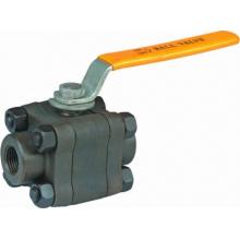 Válvula de bola flotante de acero forjado 800lb / 2500lb Sw / Bw 3 PCS (Q61F / PEEK)