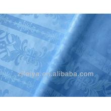 100% хлопок Гвинея парчи базен riche жаккард африканские ткани синего цвета наличии высокого качества оптом текстиль продвижение
