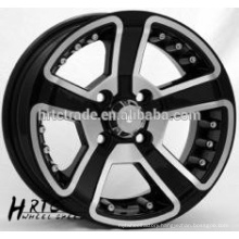 ET 17.9 SUV Sliver machined face wheels 13*5.5 and 13*6.0